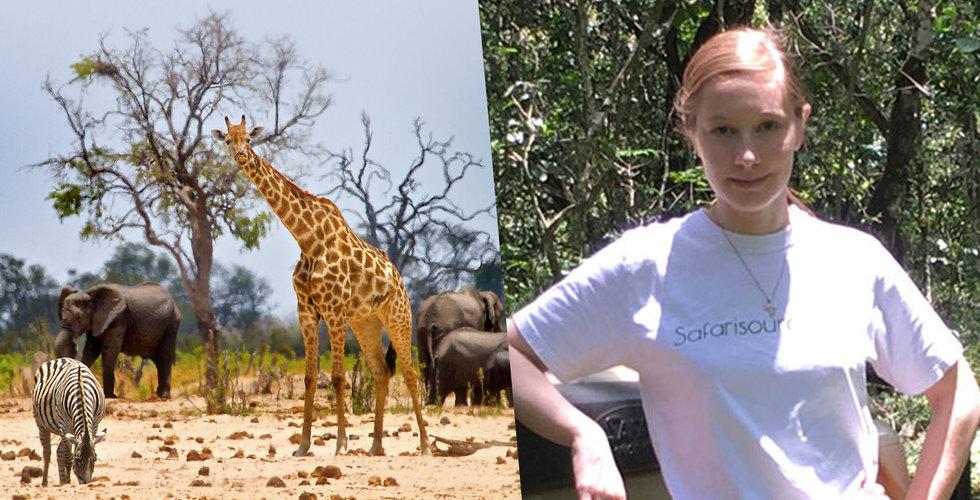 "Jessika Nilsson driver Safarisource från Sydafrika: ""Löser problemen i branschen"""