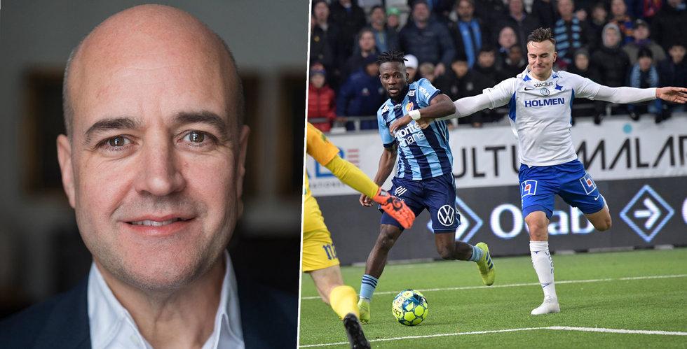 Fredrik Reinfeldt nominerad till Djurgården fotbolls styrelse
