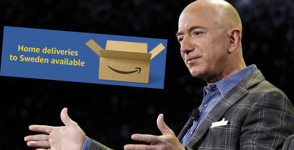 Amazons senaste drag i Sverige – erbjuder hemleveranser på alla beställningar