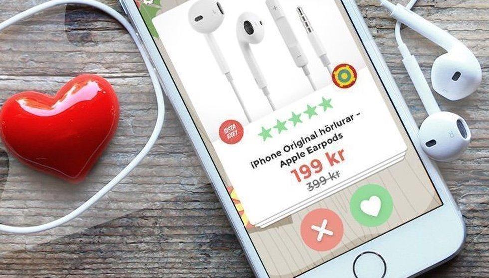 Så ska Fyndiq öka köp i mobilen: Lanserar ett Tinder för e-handel