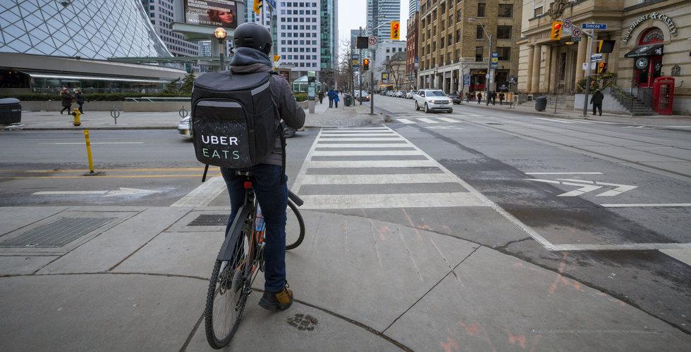 Uber Eats intar förorterna