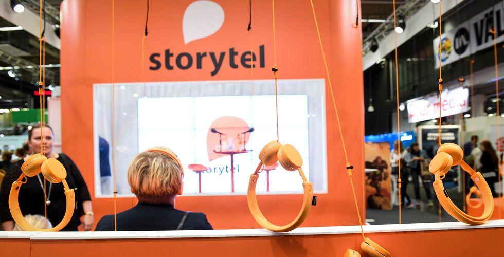Breakit - Storytel slukar bokförlaget Telegram Bokförlag