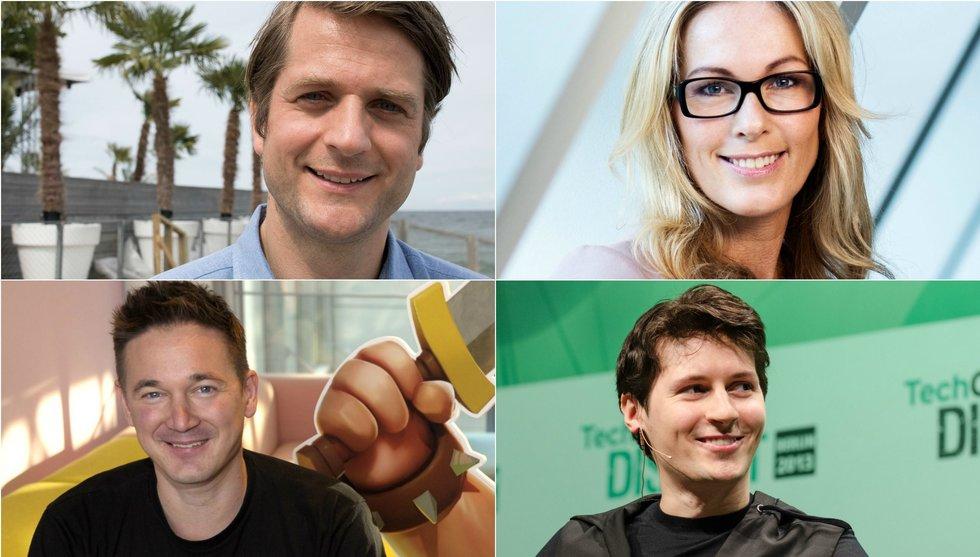 Europas mest briljanta tänkare - svenska techprofiler på listan