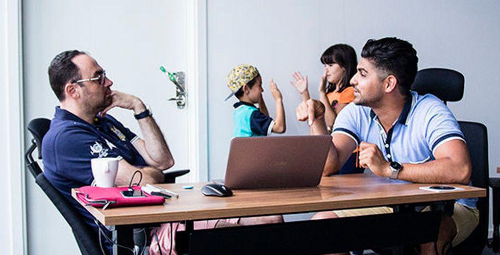 Lämnar toppjobb på Mediamarkt - för att driva sin egen startup