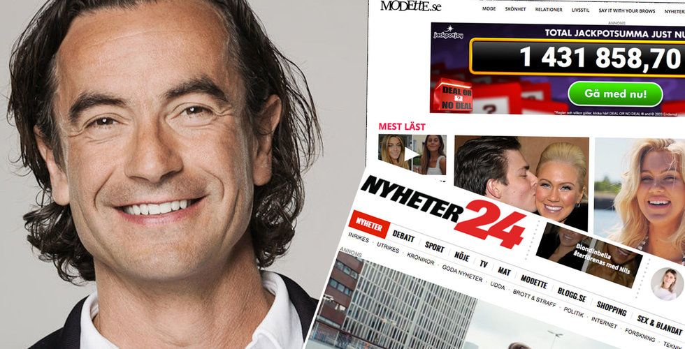 """Nyheter24 köps upp: """"Herregud vilken galen resa"""""""
