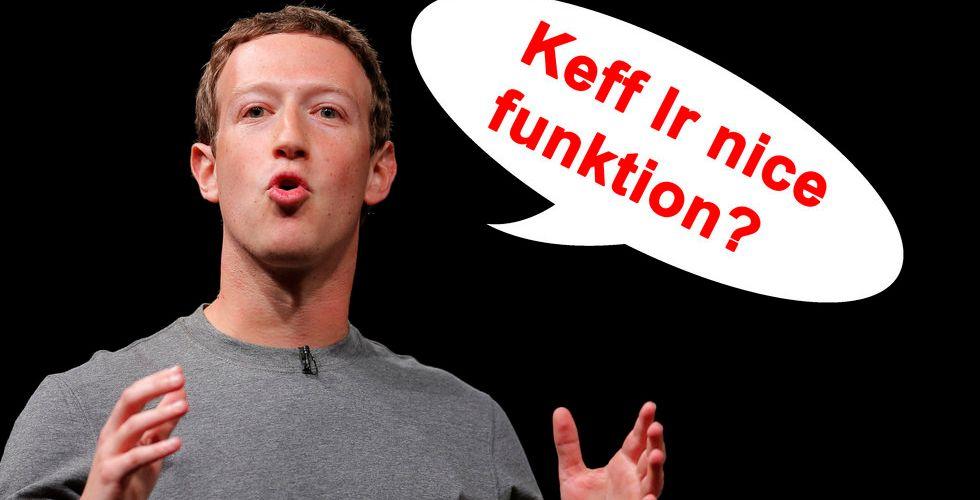 Breakit - Nu ska Facebook bygga en stor ordlista – med våra slanguttryck