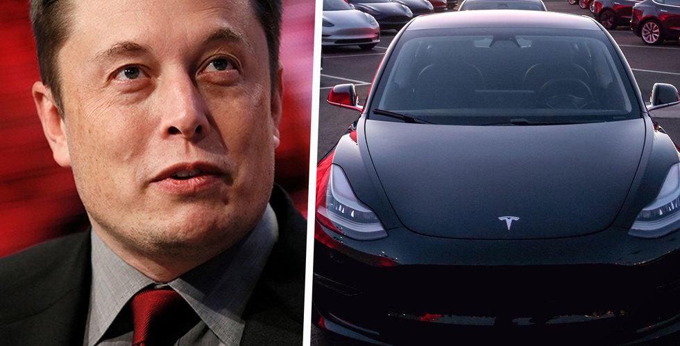 Tesla har köpt startupen Deepscale – vill bygga robottaxi