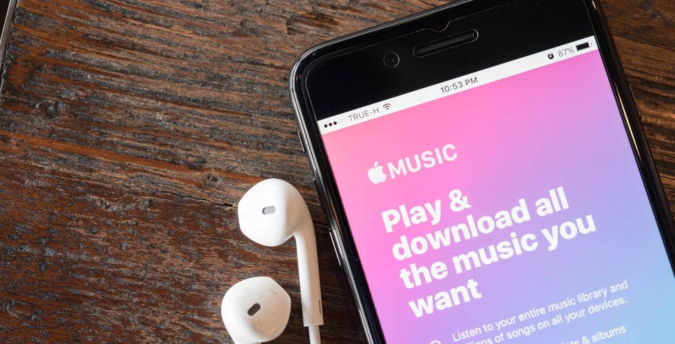 Apple uppges ha tecknat avtal med skivbolagsjättar