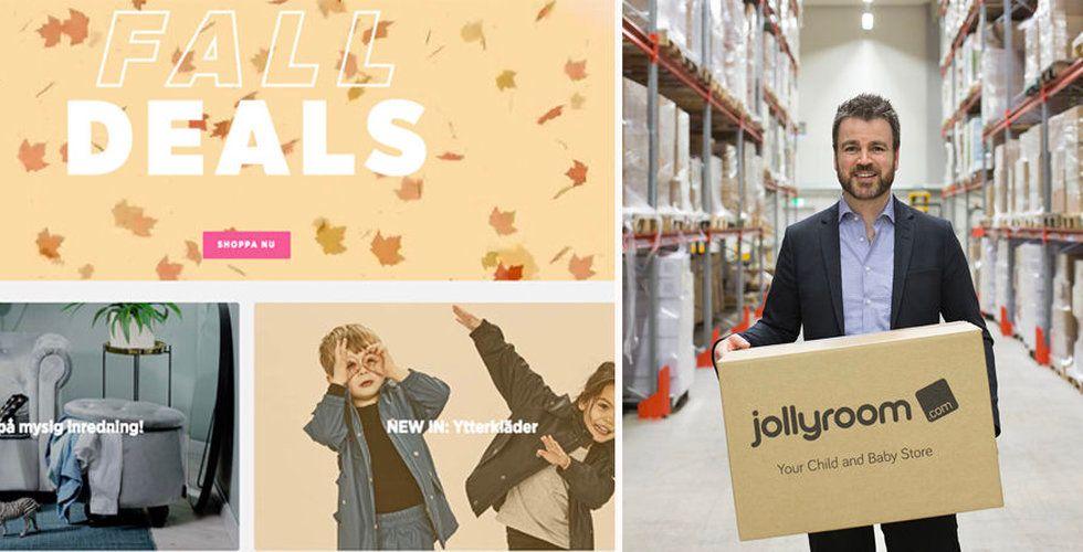 Konsumentverket vill att Jollyroom betalar vite på 3 miljoner
