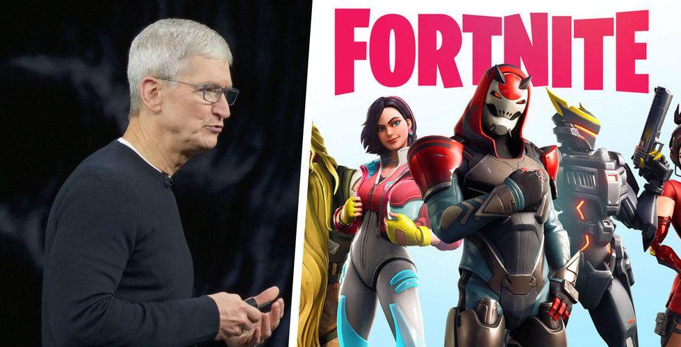 Apple slår tillbaka mot Epic Games - kräver skadestånd