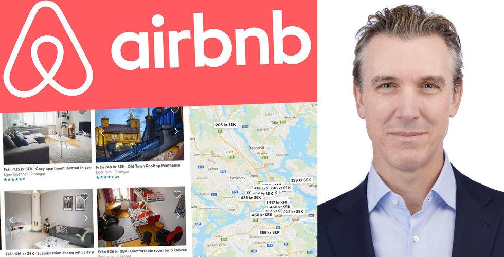 Airbnb till börsen – han ska lotsa bolaget