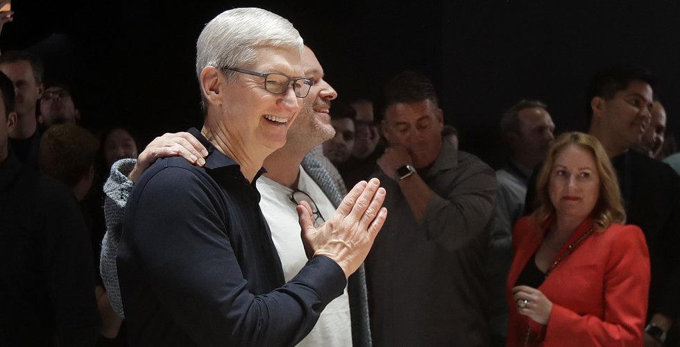 Apples resultat bättre än väntat