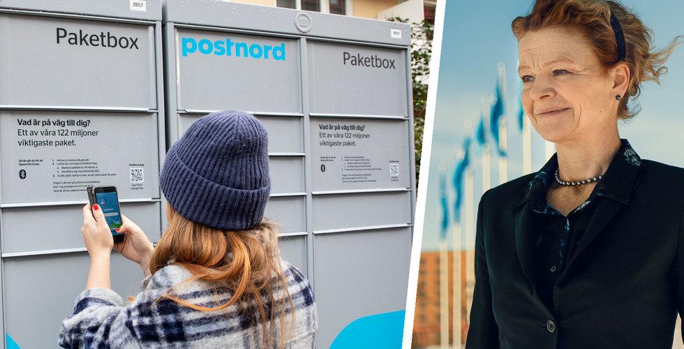 """Postnord ökar tack vare e-handeln: """"Allt fler paket"""""""