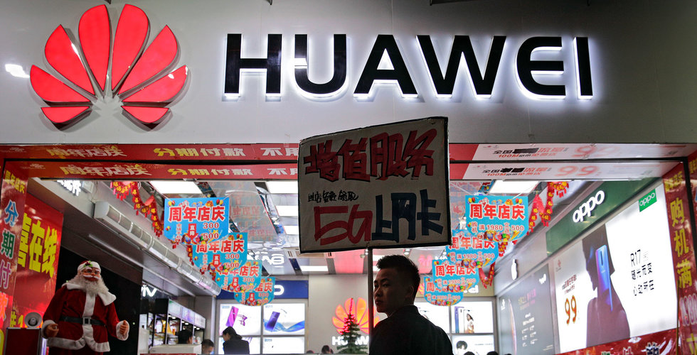 Huawei bekräftar stämning av amerikanska staten