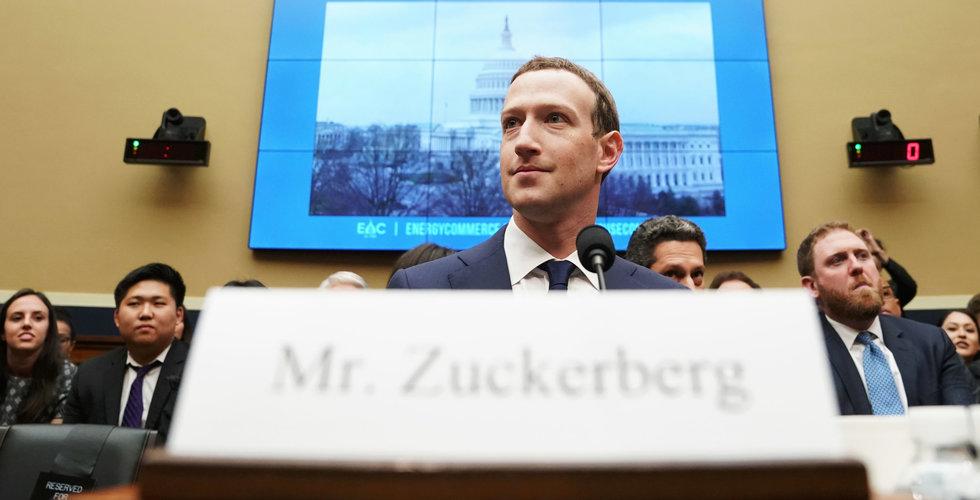 Representanthuset vill förhöra Zuckerberg om Libra