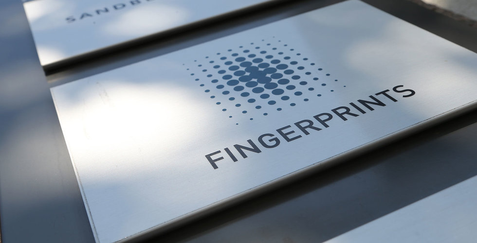 Tungt ras på börsen för Fingerprint efter vinstvarningen