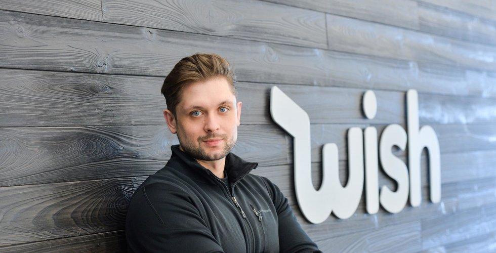 Ny jättevärdering för Wish – nästan 110 miljarder kronor
