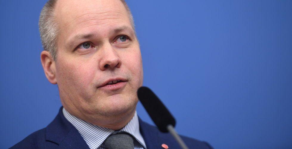 Justitieminister Morgan Johansson: Ålderskrav från GDPR svårt att tillämpa