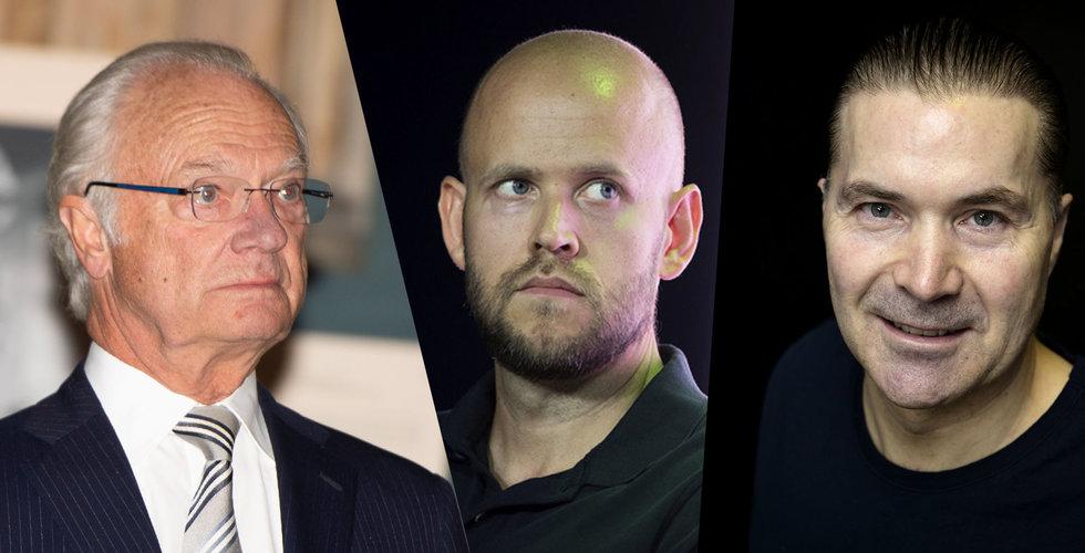 Daniel Ek och Martin Lorentzon får IVA:s guldmedalj