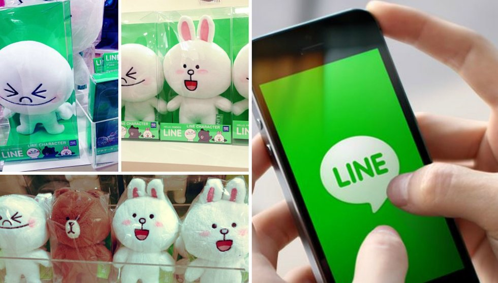 Chatt-appen Line drar in 270 miljoner dollar – på gulliga figurer