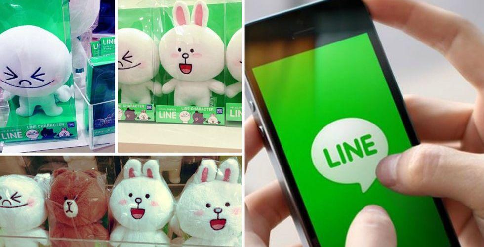 Breakit - Chatt-appen Line drar in 270 miljoner dollar – på gulliga figurer
