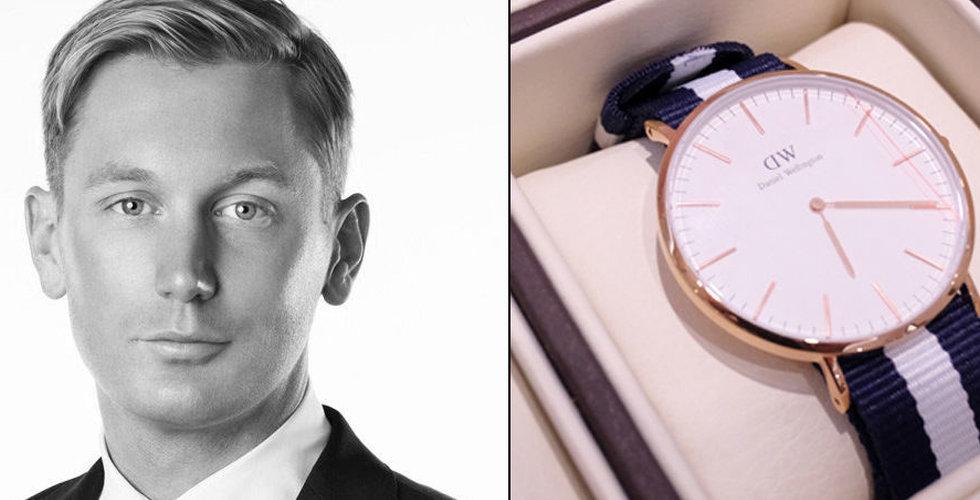Klockkungen Daniel Wellingtons oväntade drag – drar igång 300 (!) nya butiker i år