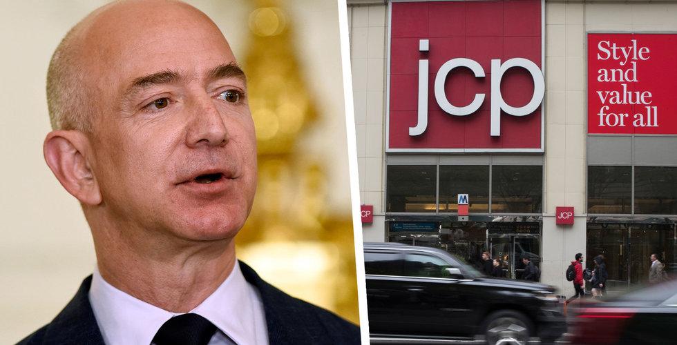 Amazon förhandlar om att köpa konkursade JC Penney