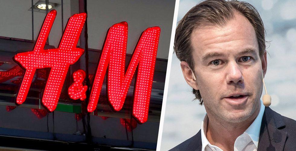 Bakslag för H&M  – försäljningen backade senaste kvartalet