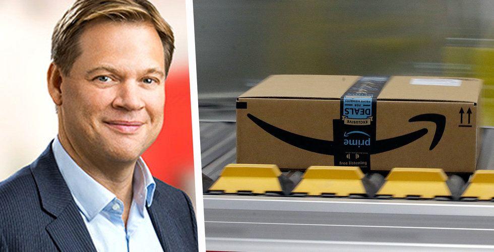 """Ica-chefen om Amazon: """"Det här är den stora faran"""""""