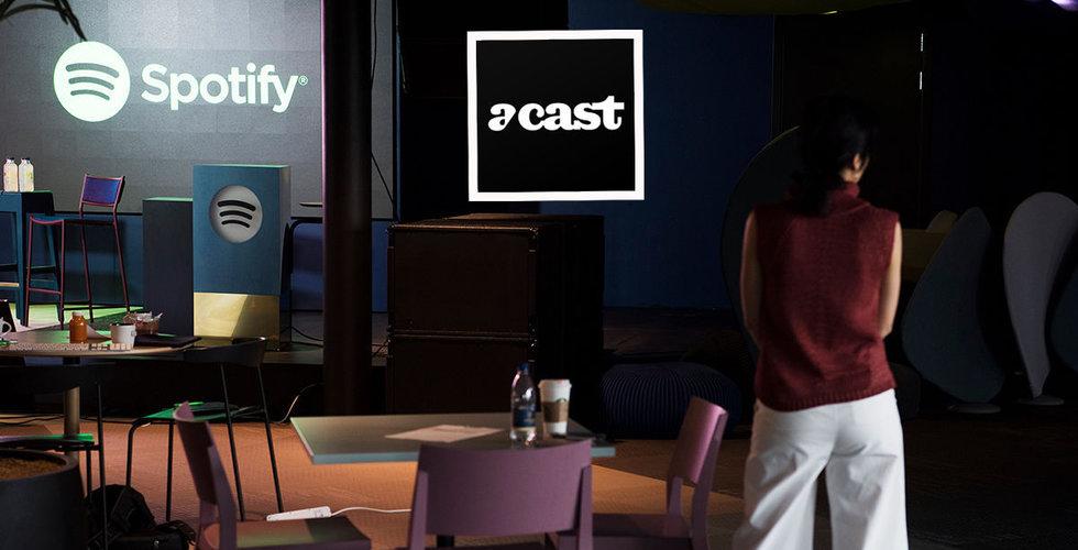 Acast var nära att köpas av Spotify