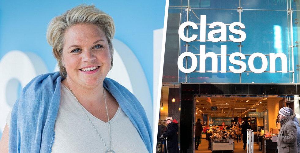 Clas Ohlsons försäljning sjönk kraftigt i mars – rusade på nätet