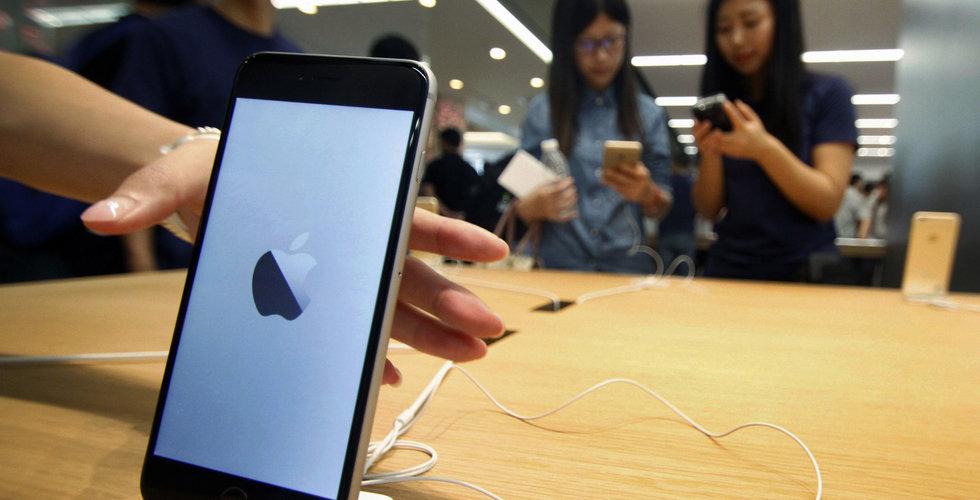 Breakit - Boom för Apple i Kina – nu rusar försäljningen av Iphones