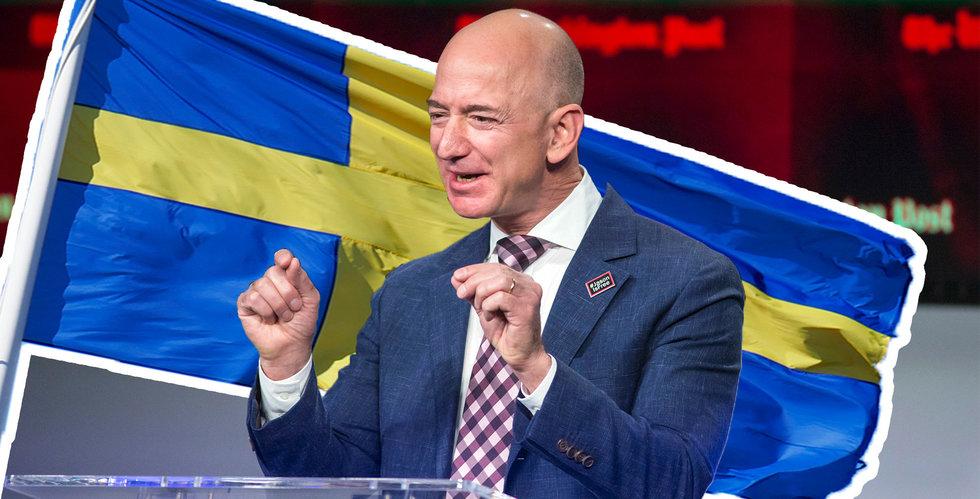 Beräkningar: Så mycket omsätter Amazon i Sverige