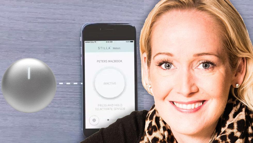 Breakit - Elin Elkehags smarta larmknapp nådde målet – på tio timmar