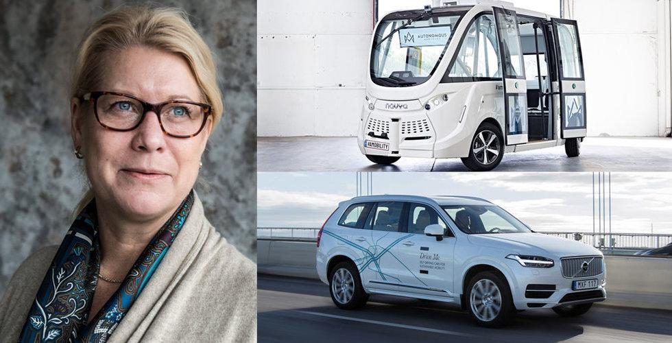 Breakit - Titta! Snart rullar självkörande bilar i Sverige