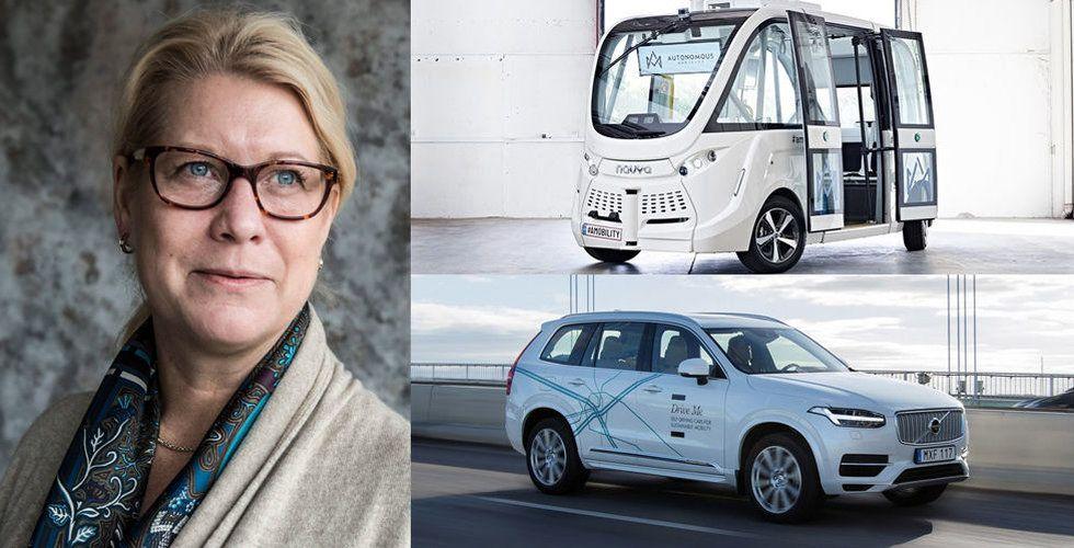 Titta! Snart rullar självkörande bilar i Sverige