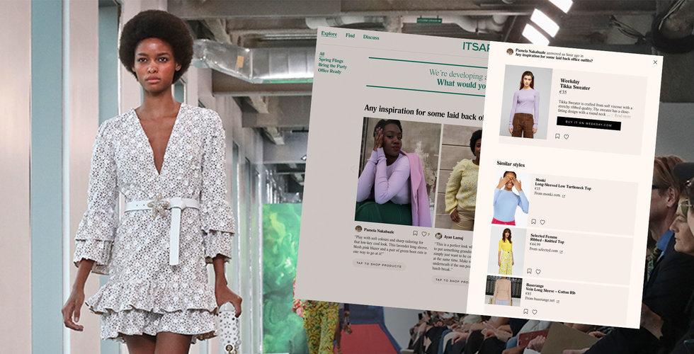 H&M lanserar betaversion av Itsapark
