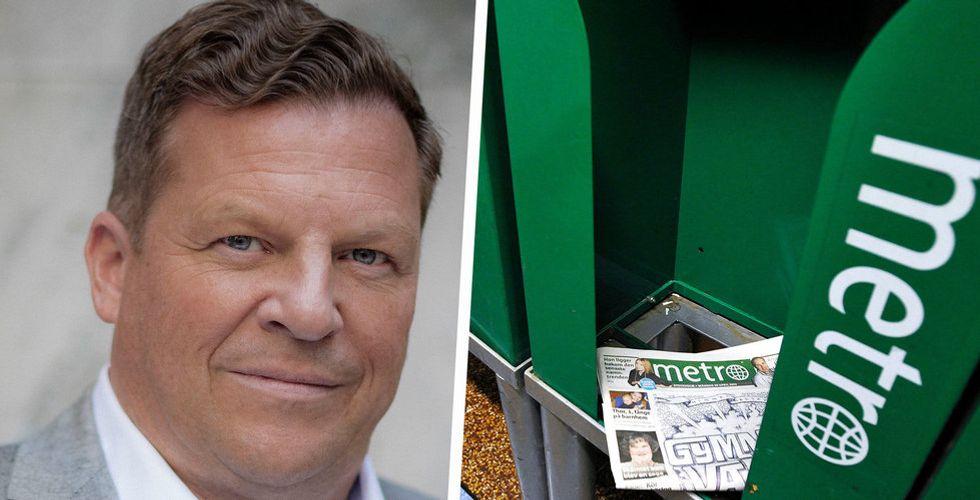 """Christen Ager-Hanssen har en ny plan för att rädda Metro – """"Vi är konstant i krig"""""""