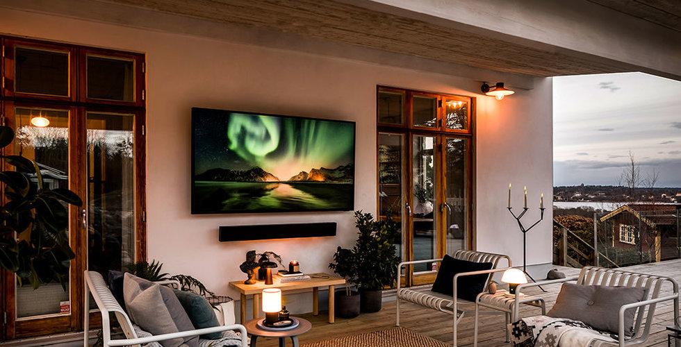 TV:n som fixar stämningen på uteplatsen – året runt