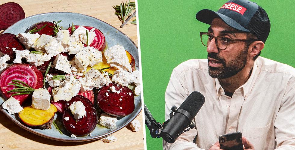 """Sorosh Tavakoli om sin ost-startup: """"Alla behöver göra sitt"""""""