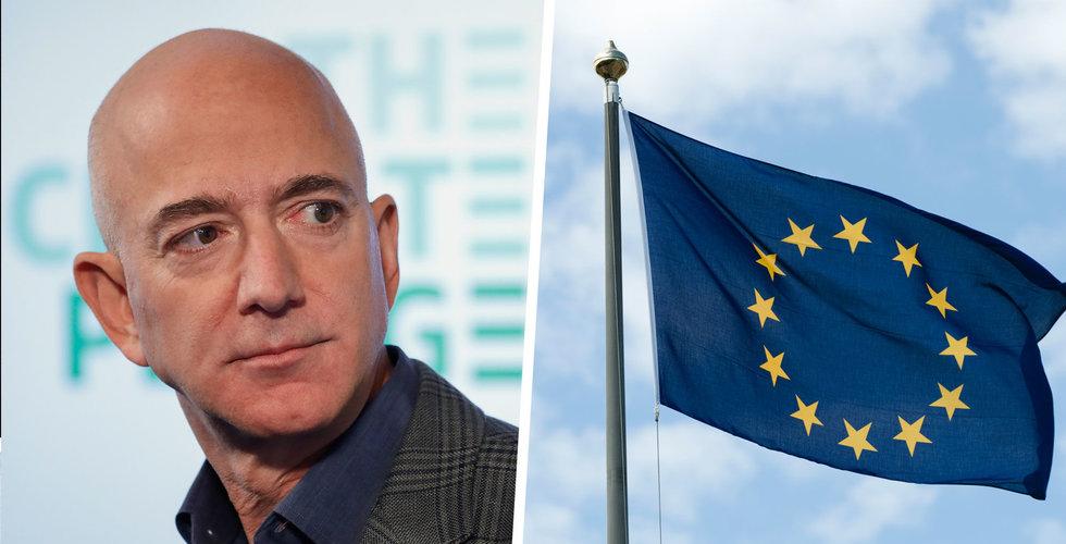 EU tänker anklaga Amazon för konkurrensbrott - WSJ