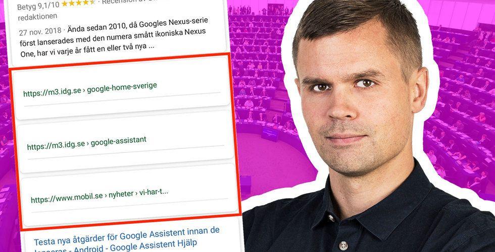 Här är Google-testet som ska skrämma de svenska medierna