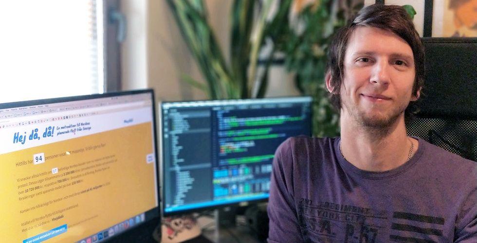 Breakit - Dennis Nyström lackade på Nordea – startade klagosajt