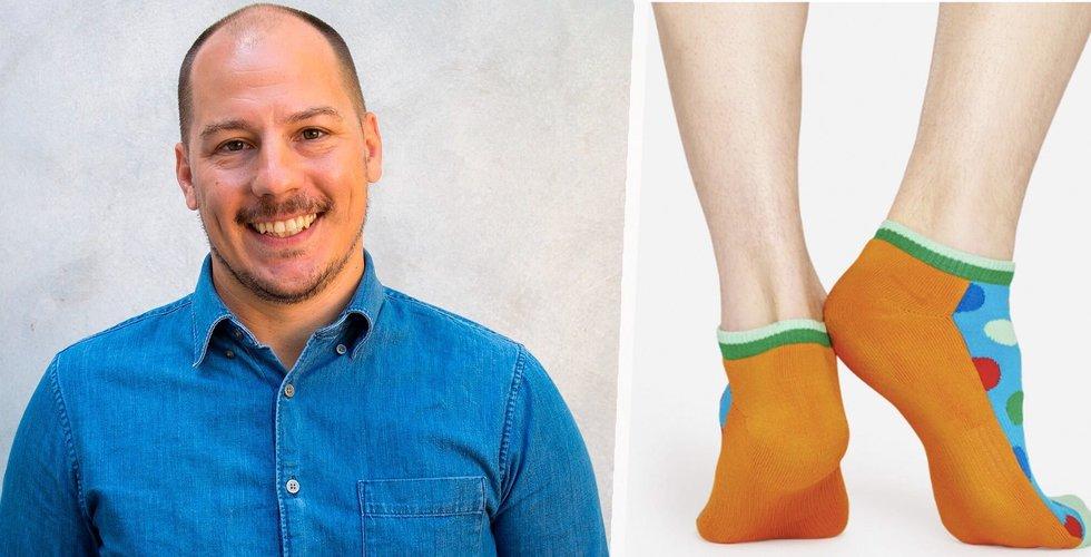 Han säljer 30 miljoner par strumpor i år – här är Happy Socks hemlighet