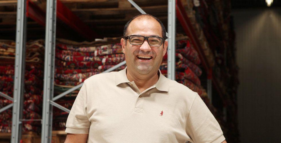 Hossein Sadr grundade Carpetvista – så blev han störst i världen på mattor