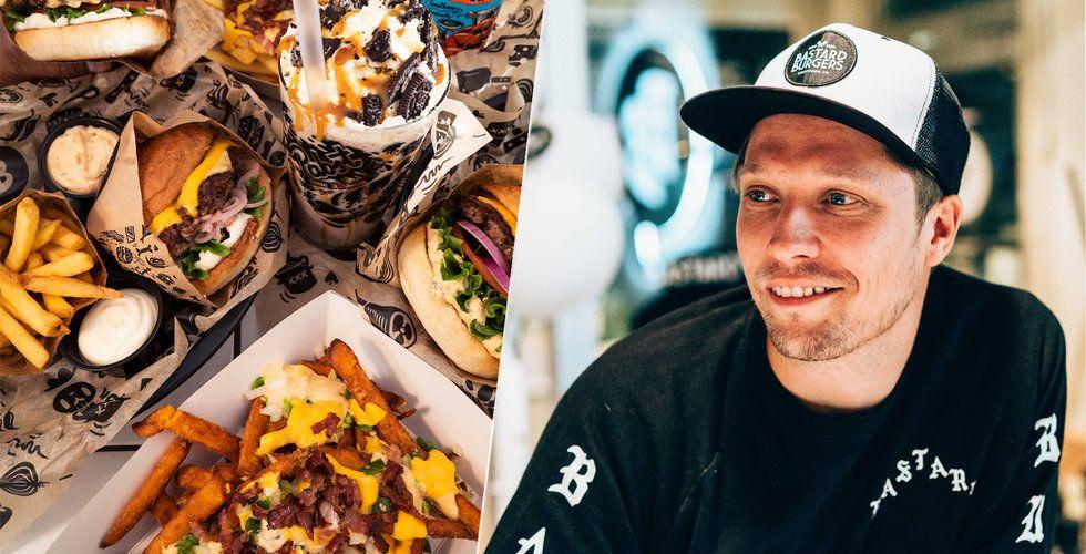 """Mitt i krisen – Bastard Burgers dubblar och siktar mot New York: """"Det vore en dröm"""""""