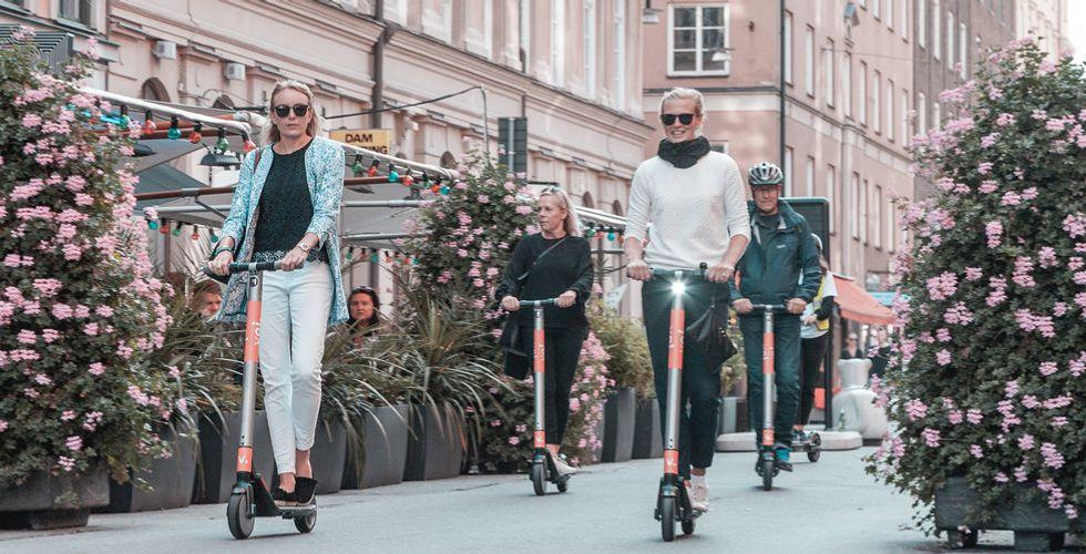 Redan fyra tjänster för elsparkcyklar i Stockholm – och fler är på väg