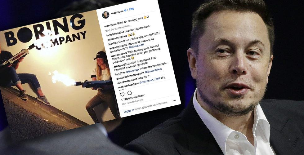 Breakit - Superentreprenören Elon Musks nya plan för att bygga tunnlar är… eldkastare?