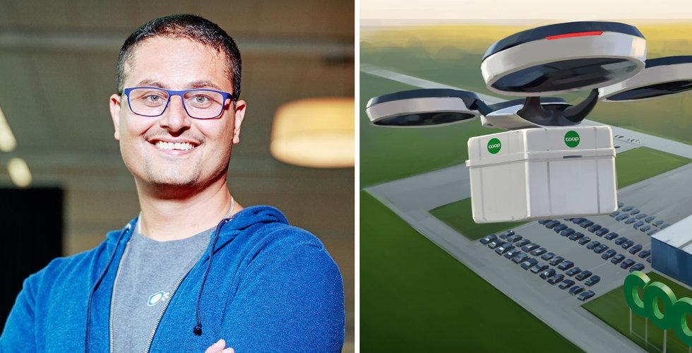 """Coops nya digitala chef Amer Mohammed: """"Bolaget ligger efter på flera fronter"""""""