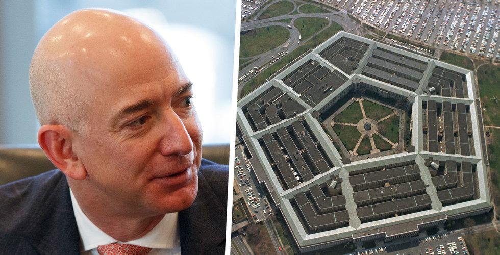 Pentagon pausar upphandling av JEDI-kontrakt – ska se över om Amazon gynnats